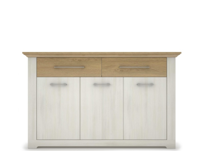 ARSAL Nordic pine chest of drawers 3d2s