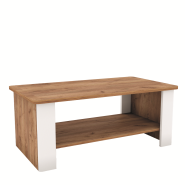 CANDY craft oak dark / white coffe table 110