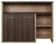 ALES Oak san remo / arusha chest of drawers 2d