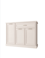 TAYLOR White chest of drawers 3d1s