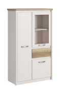 PROVENCE krem / dąb canyon low showcase 2d1w1s