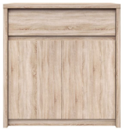 NORTON Oak sonoma chest of drawers 2d1s